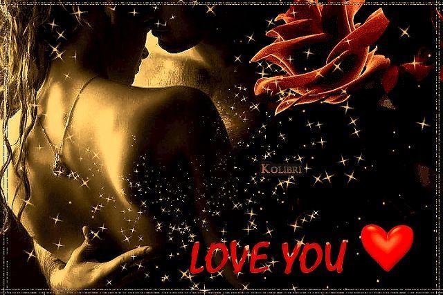 Анимированные открытки про любви