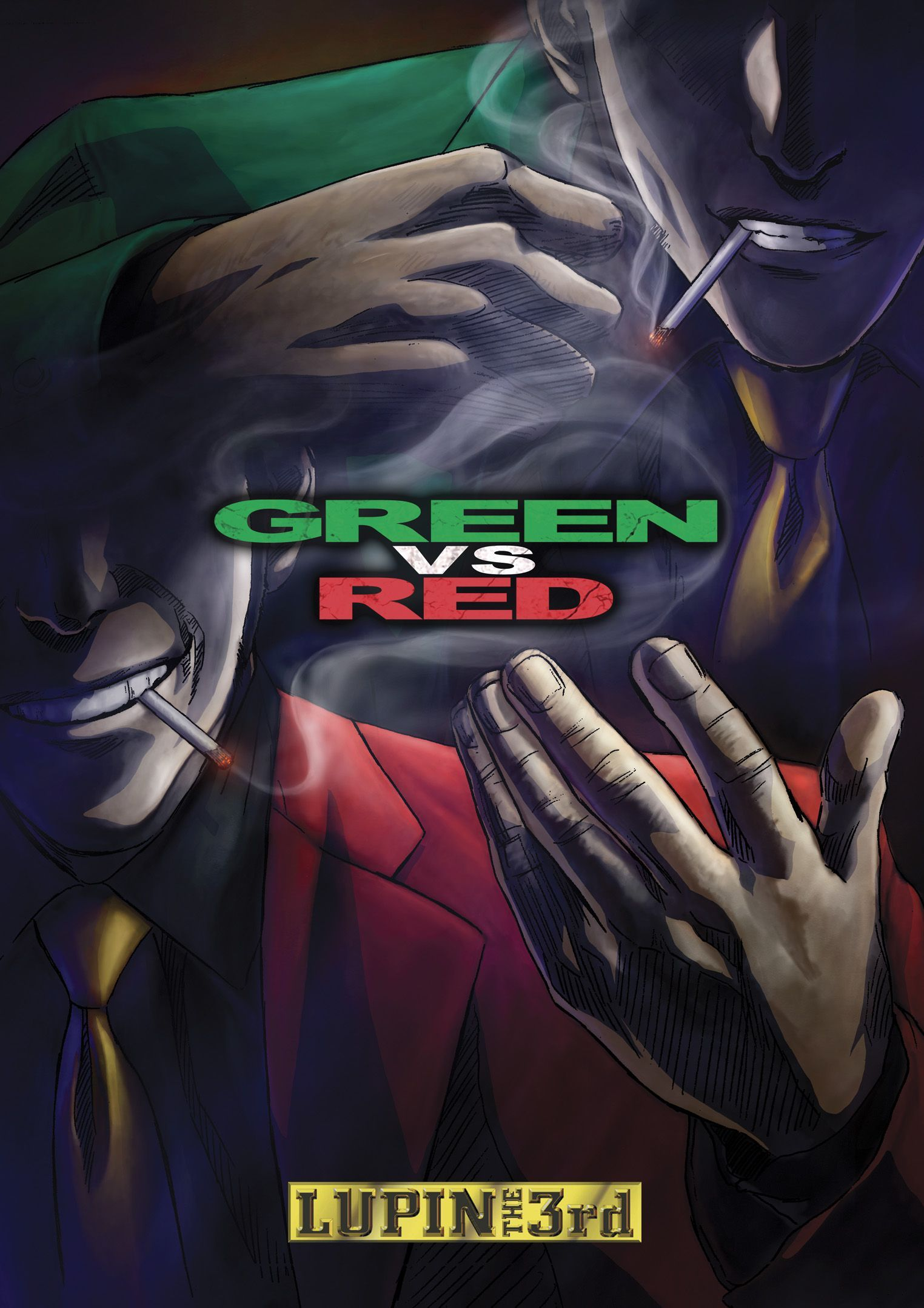 Lupin The 3rd Vs. Red (With images) Dvd, Cool things to