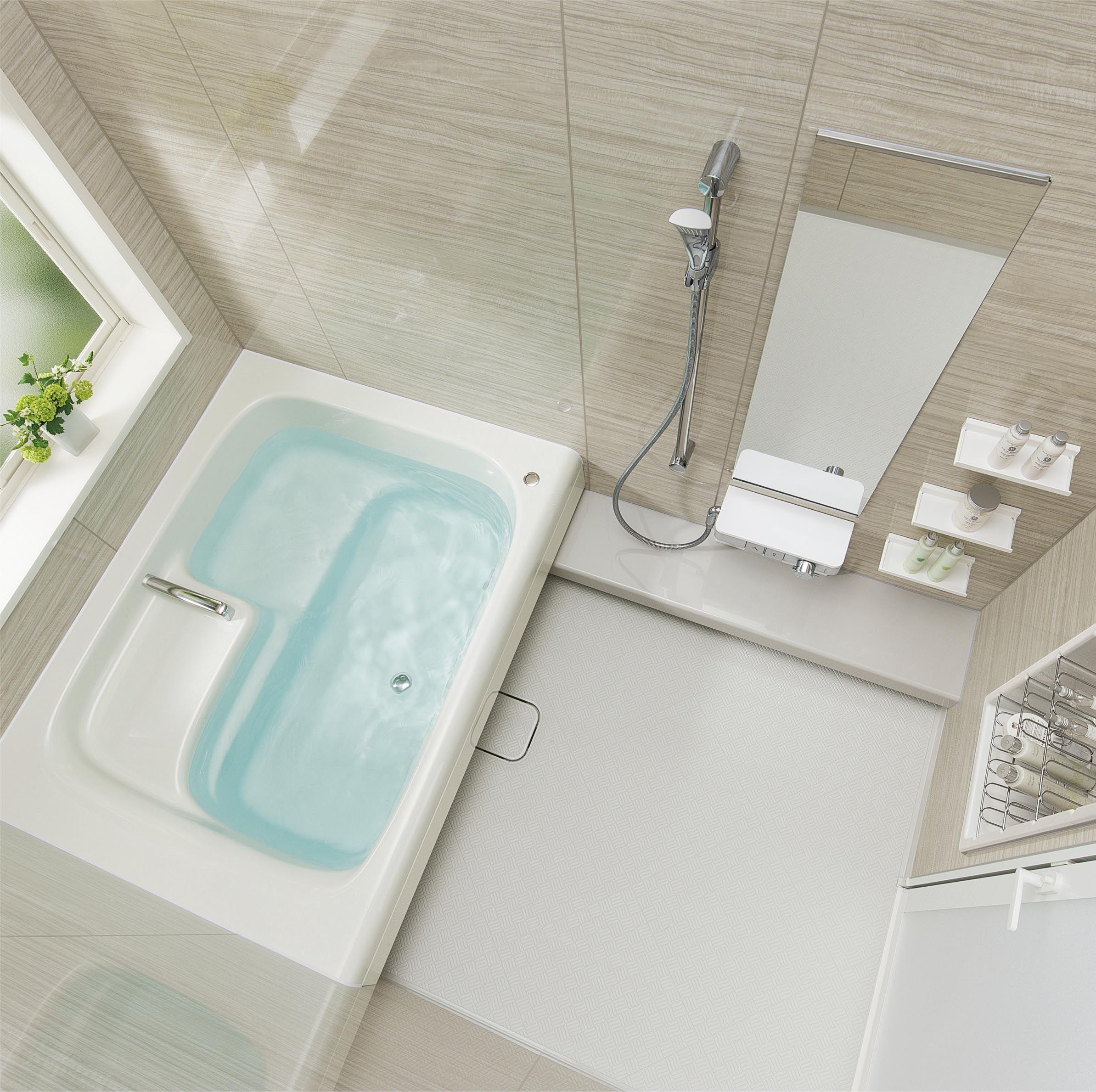 トクラスバスルーム ストーリー 1 5坪 足湯 半身浴もできるバスタブ バスルーム 理想のバスルーム お風呂