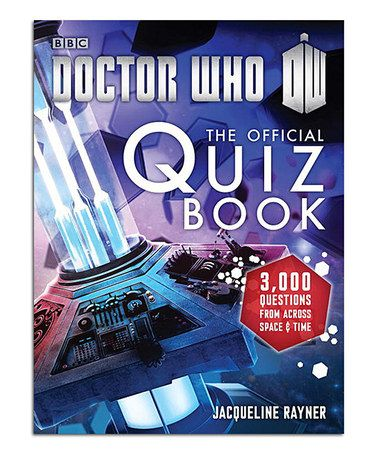 This Doctor Who: the Official Quiz Book Paperback by Doctor Who is perfect! #zulilyfinds
