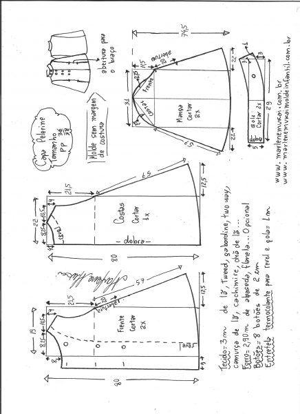 taille cape PP Couverture de schéma de modélisation.