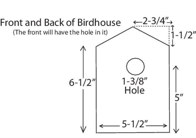 Diy birdhouse diagram a clifton pinterest birdhouse green diy birdhouse diagram a ccuart Images