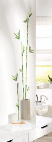 Dekosticker im Bambus-Design - holt die Natur in Ihr Zuhause