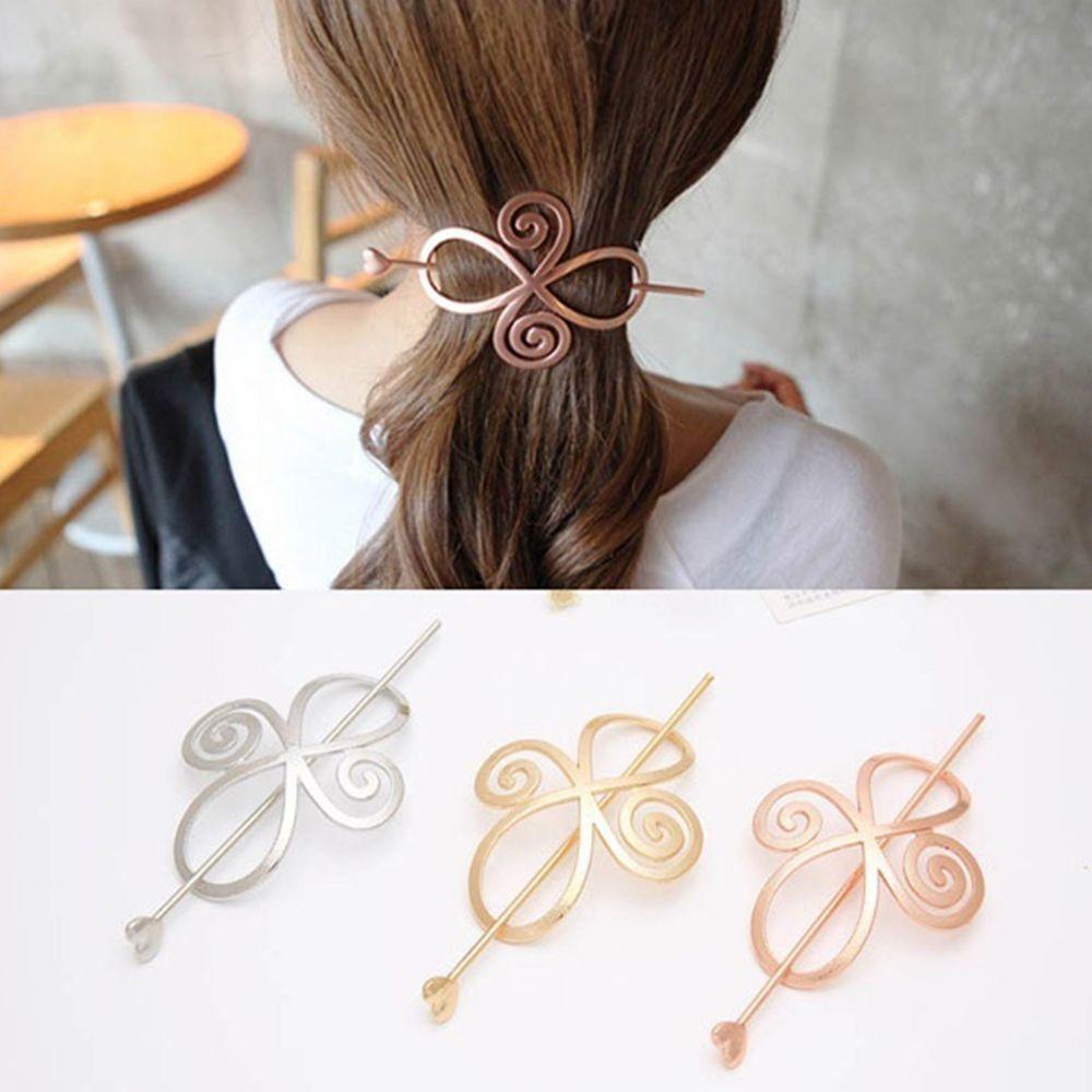 Pin Barrette Creative Hairpin Hair Accessories Long Hair Slide Clip Bun Holder