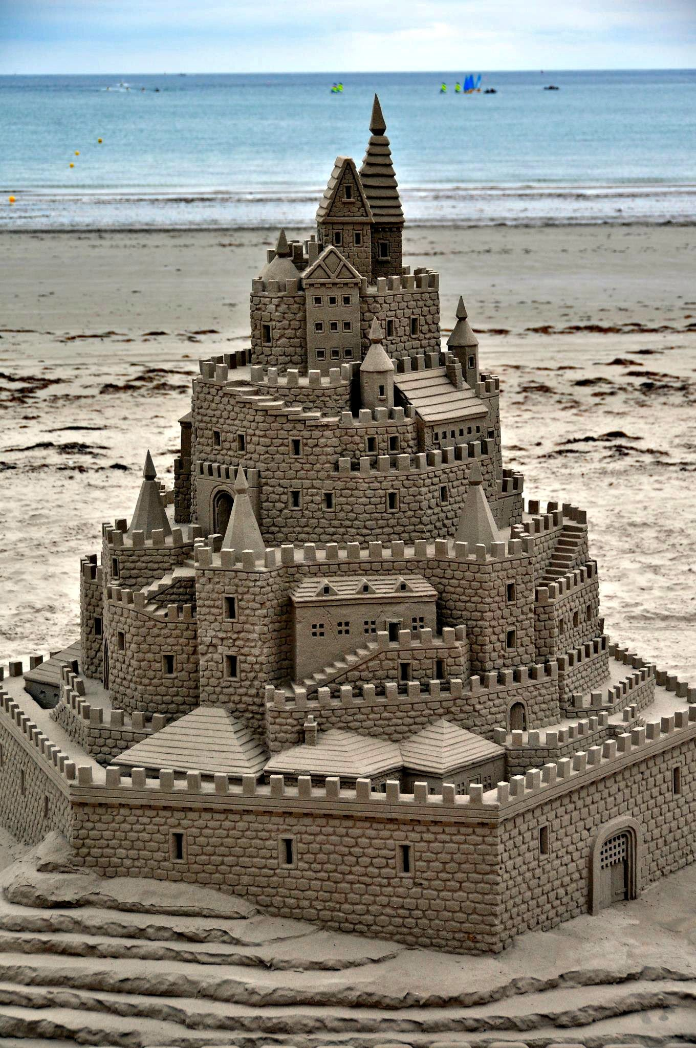 This fanciful fortress was constructed near Boardwalk Beach Resort in Panama City Beach.