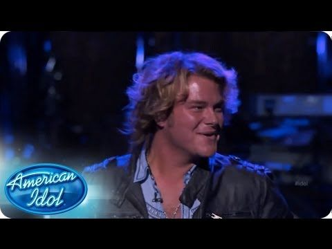 """Performing a song Keith Urban made famous in """"Raining On Sunday"""", Jimmy Smith wanted to represent country in the finals. #idol #americanidol"""