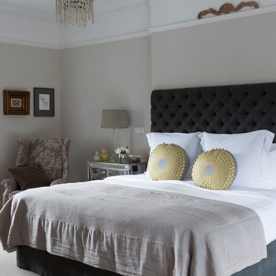 habitat trunk silver galvanised storage | soft grey bedroom, gray