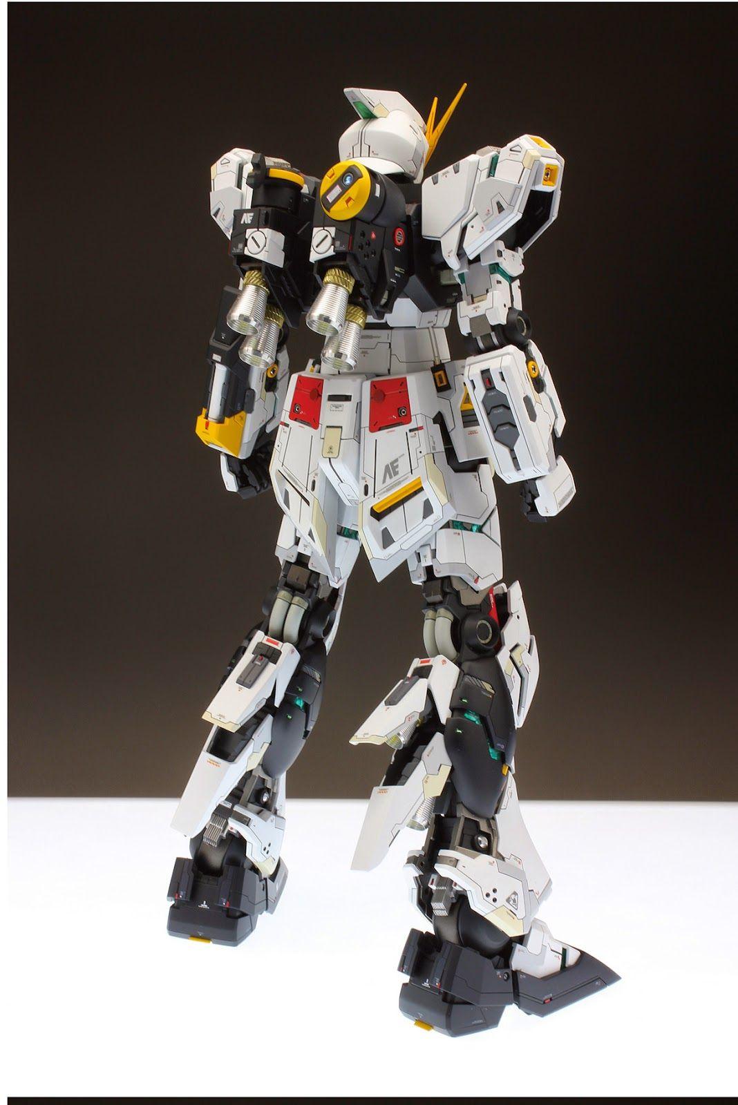 Mg Gunpla Idea T Gundam Rx 93 V Nu Ver Ka Master Grade 1100 Daban Model Custom Build 1 100 Renovated Kits Collection News And Reviews