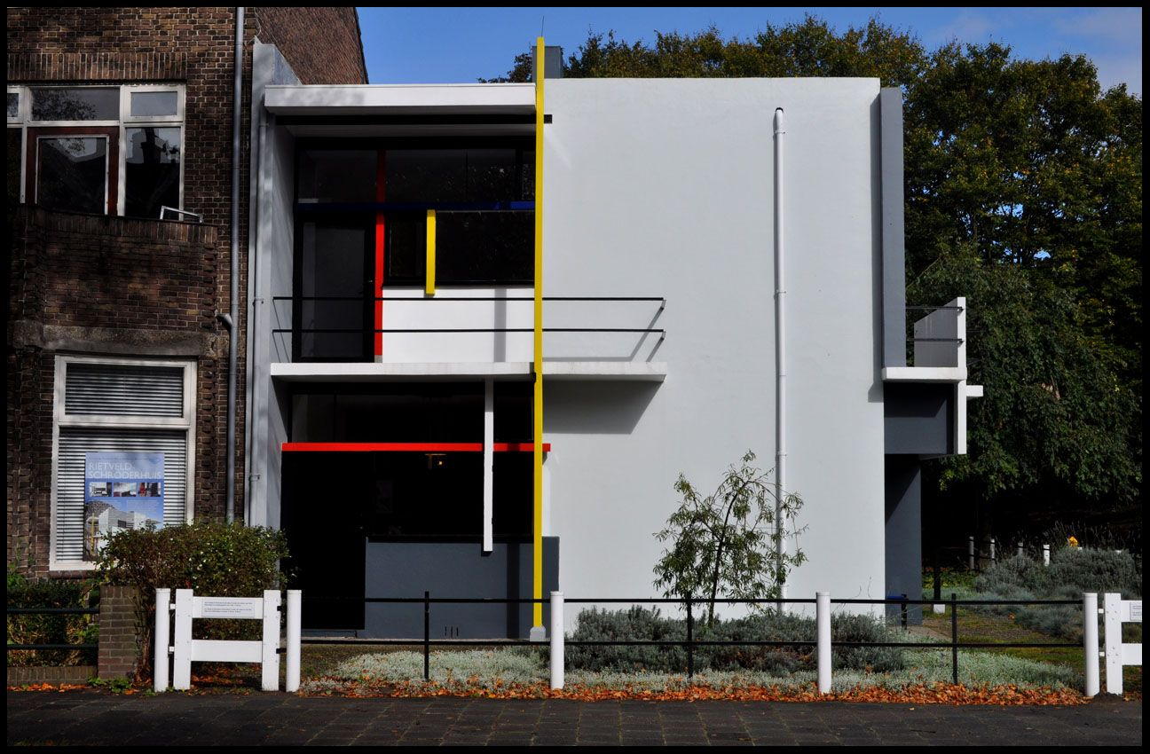 Rietveld schr der house modernism and the 1930 39 s pinterest de stijl architecture and arch - Stijl des maisons ...