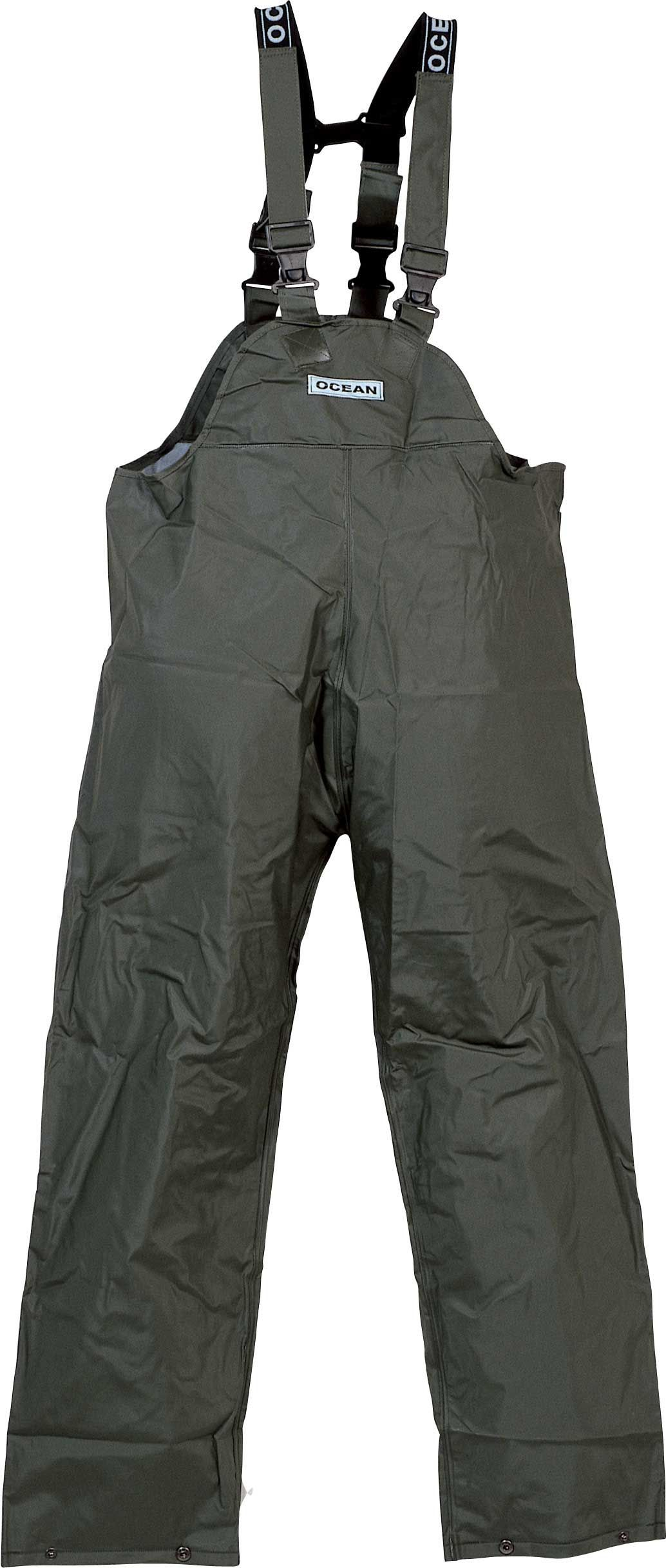 Ocean fishing clothing jackets trousers bib n braces for Waterproof fishing bibs