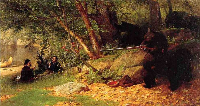 William Holbrook Beard, luncheon on the grass?