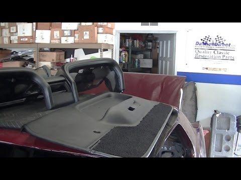 New Dash Pad Door Panels 1969 Ford Mustang Restoration Part 53 Laurel Mustang Restoration Classic Car Restoration Ford Mustang