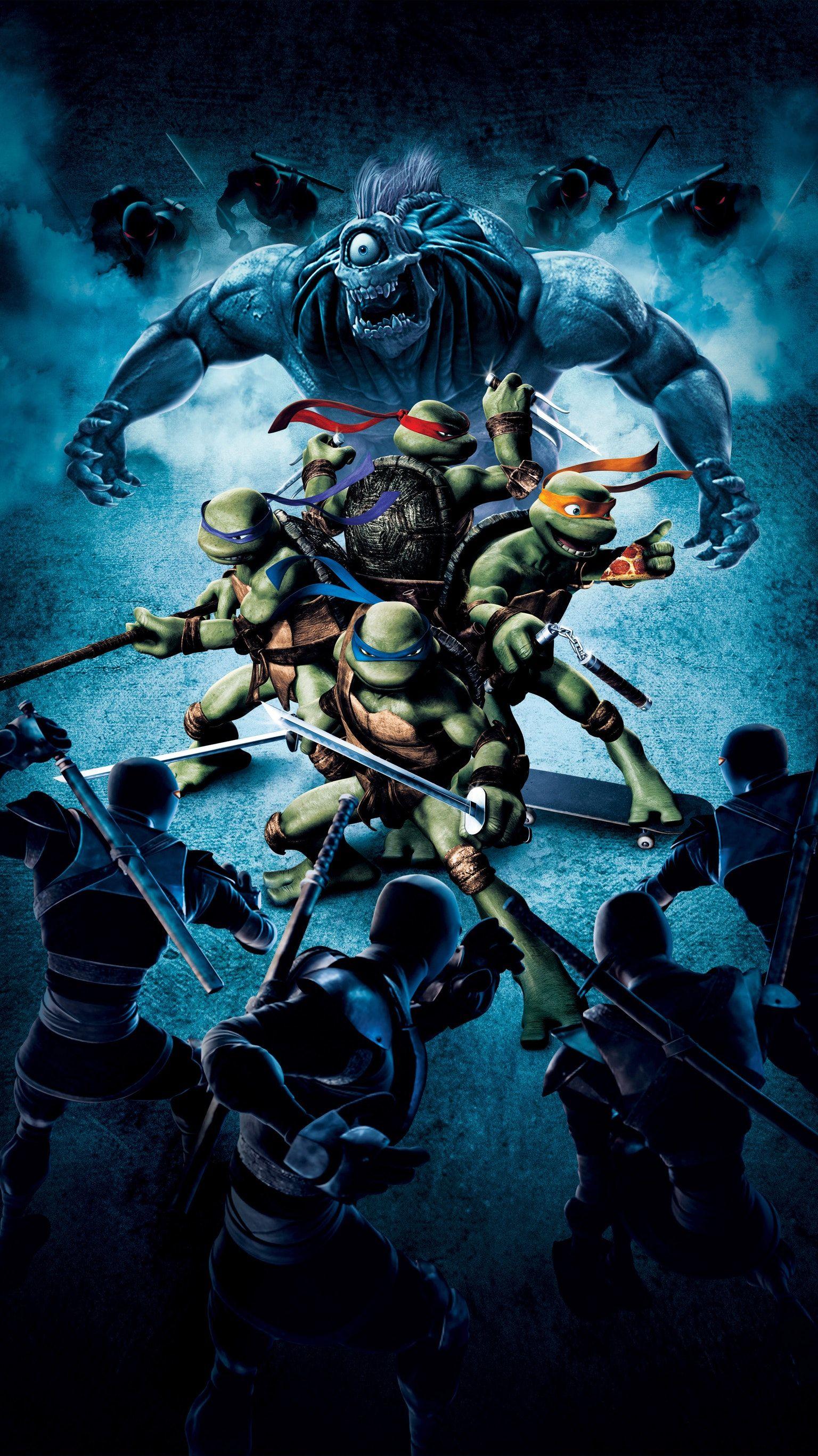 Tmnt 2007 Phone Wallpaper Ninja Turtles Teenage Ninja Turtles Tmnt Artwork