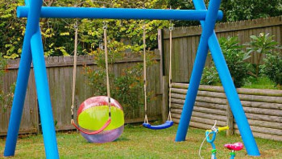 How to make a kids swing Yahoo better homes and gardens