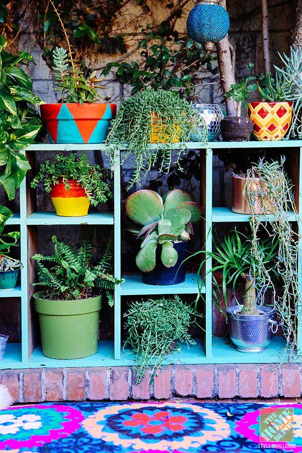 Outdoor Decorating Ideas: A Lush, Eclectic, Bohemian LA Patio