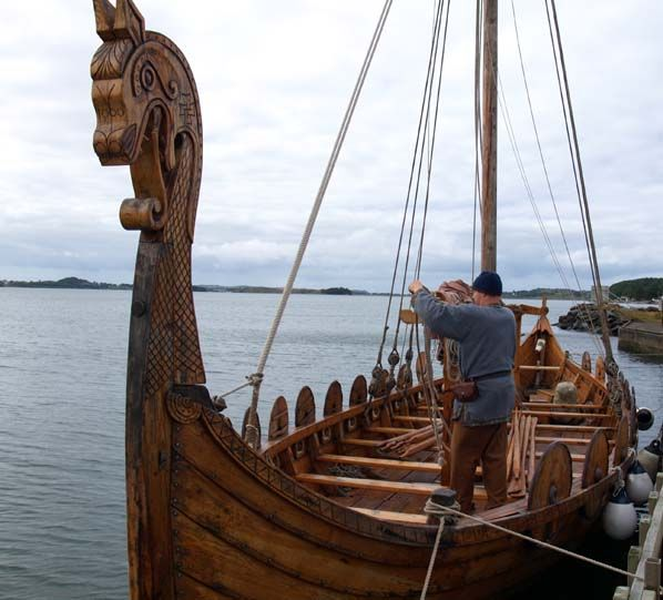 Viking #boat #shore | Viking ship, Vikings and Ships