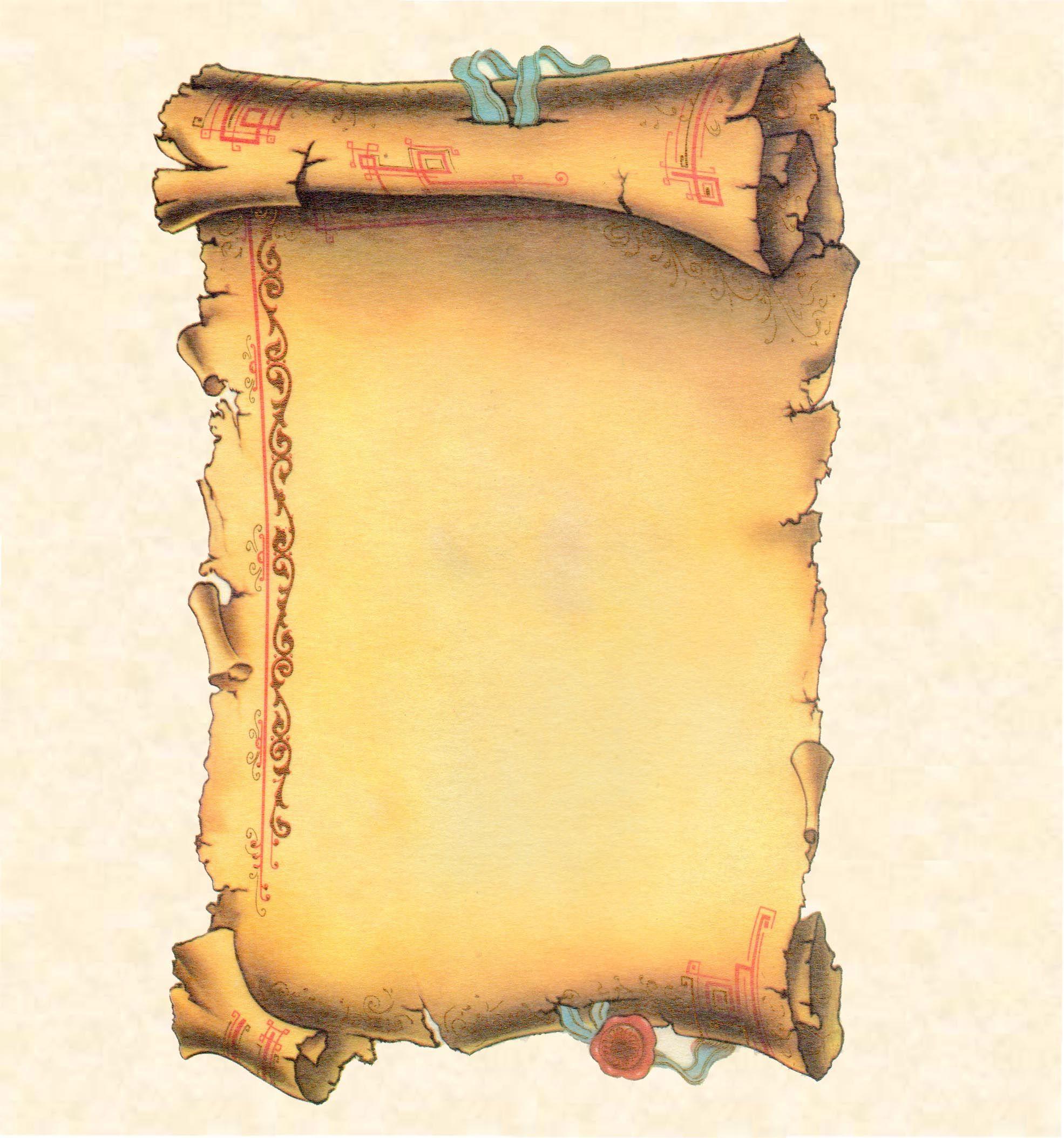 Risultati immagini per immagini di pergamene vuote