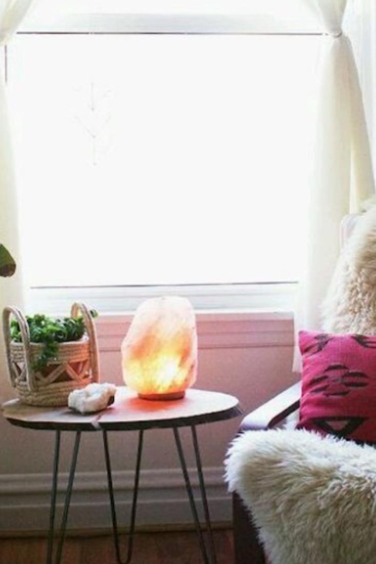 How To Decorate With A Himalayan Pink Salt Lamp Pink Salt Lamp