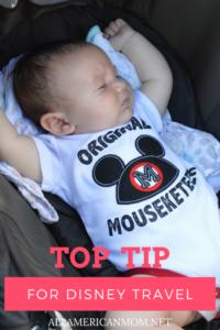 Stroller Tips for Disney World! + a $50 giveaway | AllAmericanMom.Net | Sarah Philpott