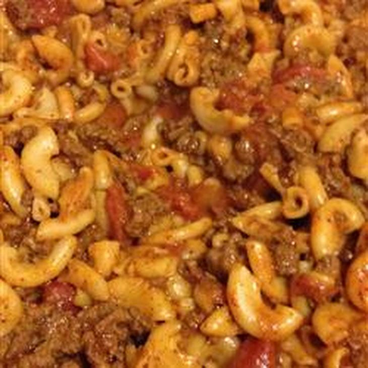 Goulash Supreme Recipe Main Dishes With Lean Ground Beef Macaroni Stewed Tomatoes Paprika Chili Powder Chopped Oni Cumin Recipes Recipes Main Dish Recipes