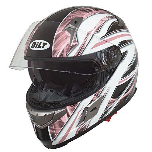Bilt Women S Blast Full Face Motorcycle Helmet Lg Pink