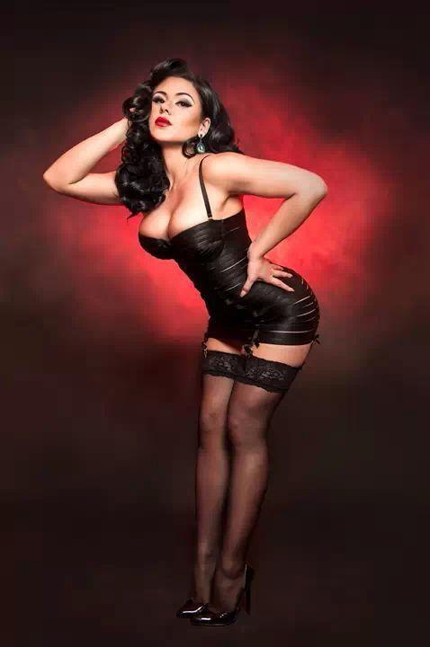 Roxi DLite pinup girl  pinupartsource  sexy  ef04eb12450