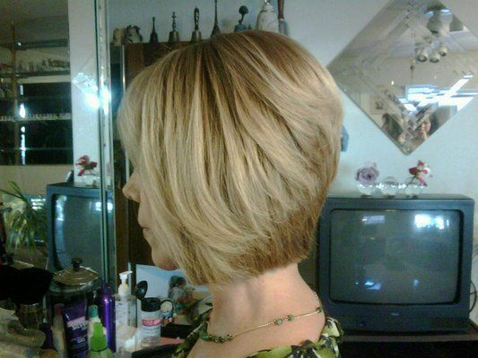 Reverse Bob Haircut Back View