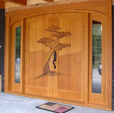 All replies on interesting doors photo for All wood exterior doors