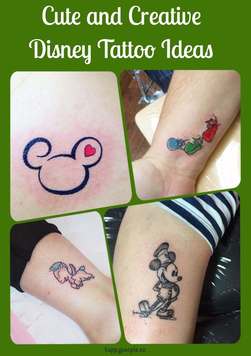 Cleaver Tattoos: 17 Clever Tattoo Ideas For Every Disney Lover