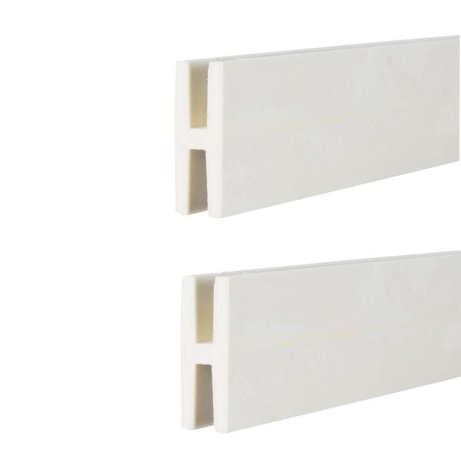 Deckorators 1 1 2 In X 2 In X 8 Ft White Plastic Lattice Divider Lowes Com In 2020 Plastic Lattice Deckorators Lattice