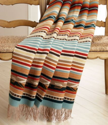 Pendleton Chimayo Throw Blankets To Bundle Up In Bed