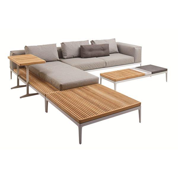 Sofa modular Grid - Gloster   Outdoor Furniture   Pinterest ...