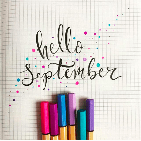 19 Bullet Journal Monthly Cover Page and Theme Ideas