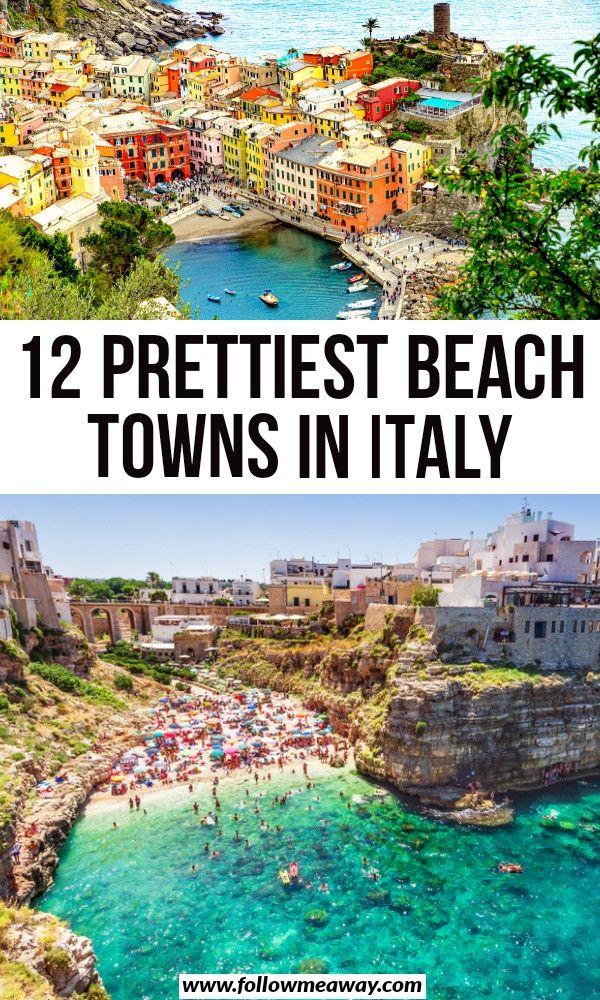 12 Prettiest Beach Towns In Italy You Must See