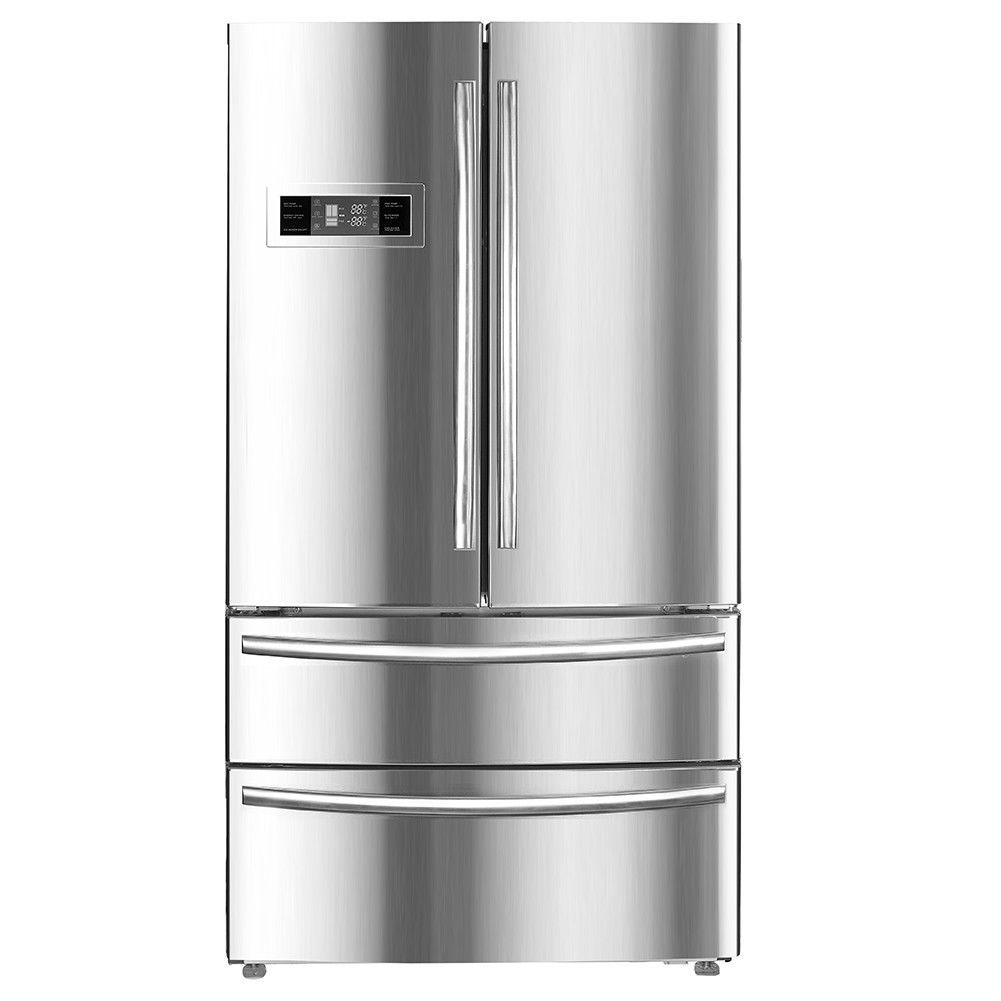 Smad 36 Depth 21 Cu Ft Auto Defrost Refrigerator Freezer French