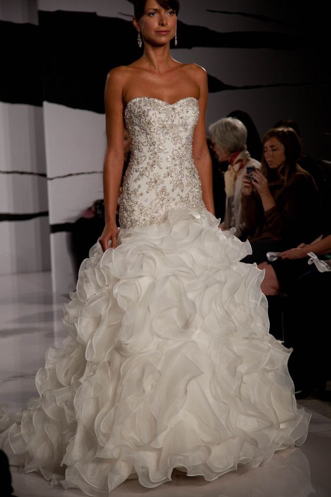 Dennis Basso For Kleinfeld Gorgeous Wedding Dress Dennis Basso