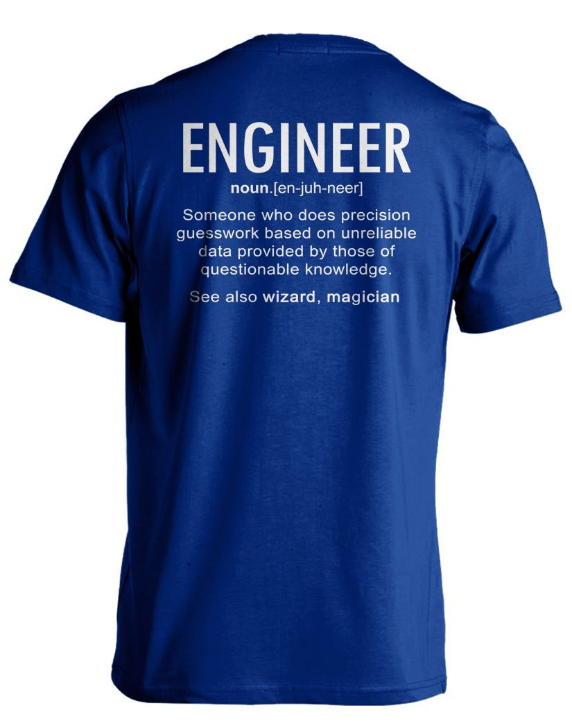 Pick your favorite style: Are you a Proud Engineer with a sense of humor? This funny design is made just for YOU! But ACT Quick! We eventually sell out of every design... - Guaranteed safe and secure