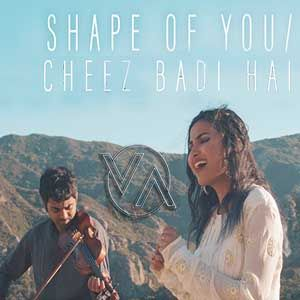 Shape Of You Cheez Badi Hai Vidya Vox Sounds Vidya Vox Mp3 Song