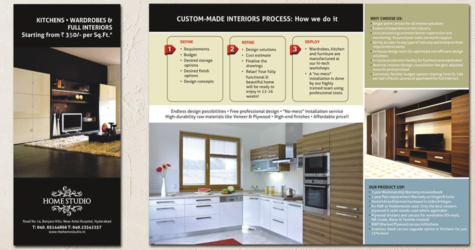 Interior brochure design hyderabad interior design for Interior design brochures