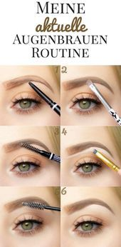 Photo of My current eyebrow routine – #current #eyebrow routine #my – #new