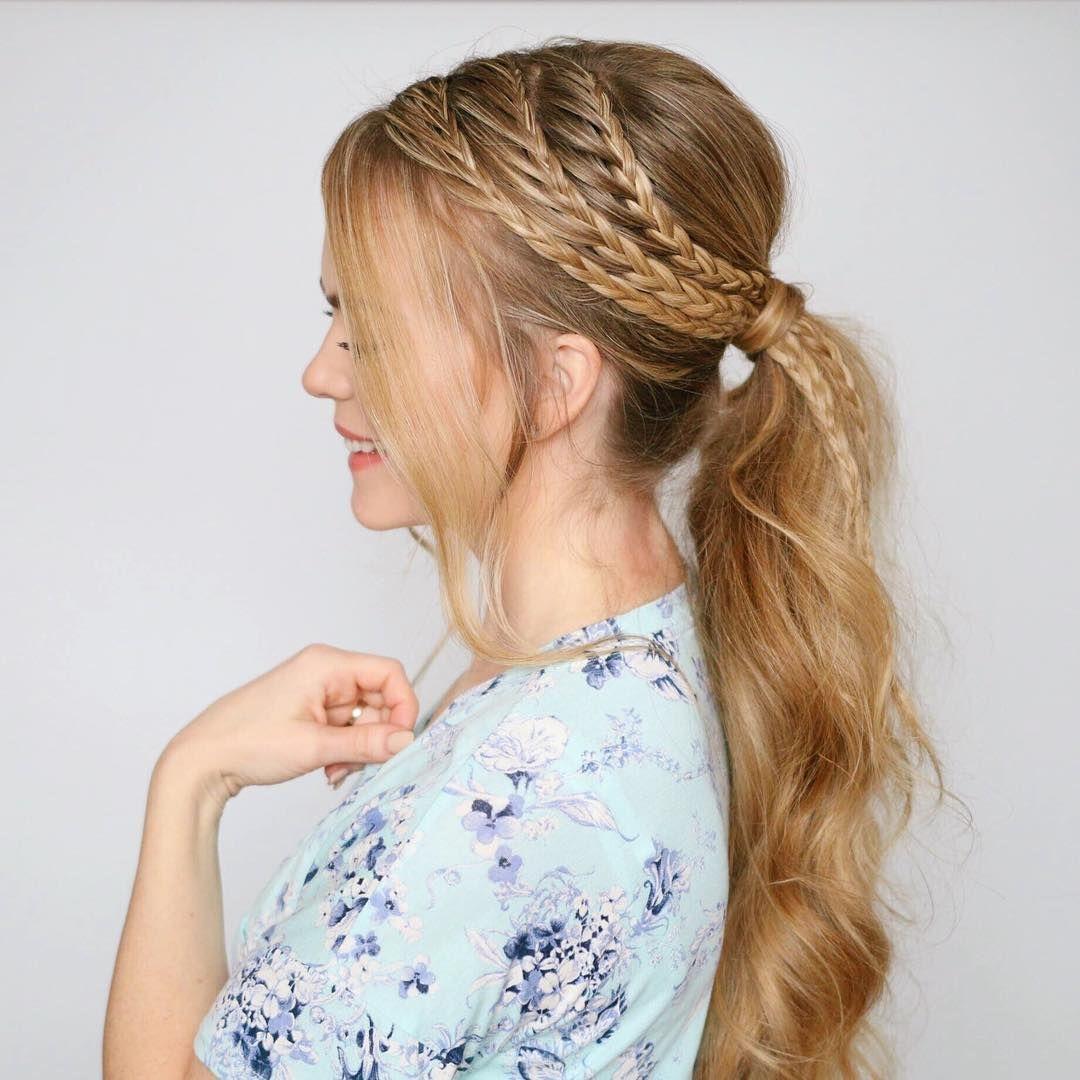 Más caliente de alta cola de caballo a probar ahora high ponytails
