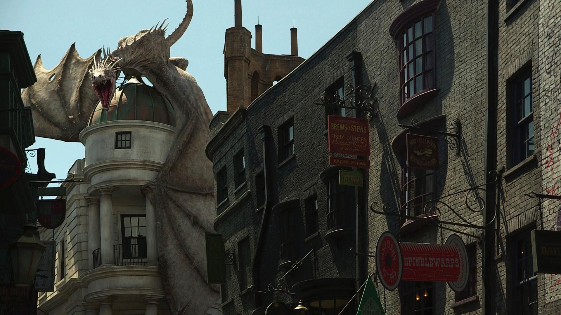 Watch Go Inside The New Wizarding World Of Harry Potter And Diagon Alley Wizarding World Of Harry Potter Harry Potter Park Wizarding World
