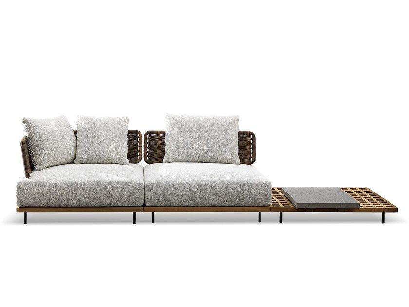 Download The Catalogue And Request Prices Of Quadrado By Minotti Outdoor Sofa Design Outdoor Sofa Contemporary Outdoor Furniture Outdoor Sofa Design