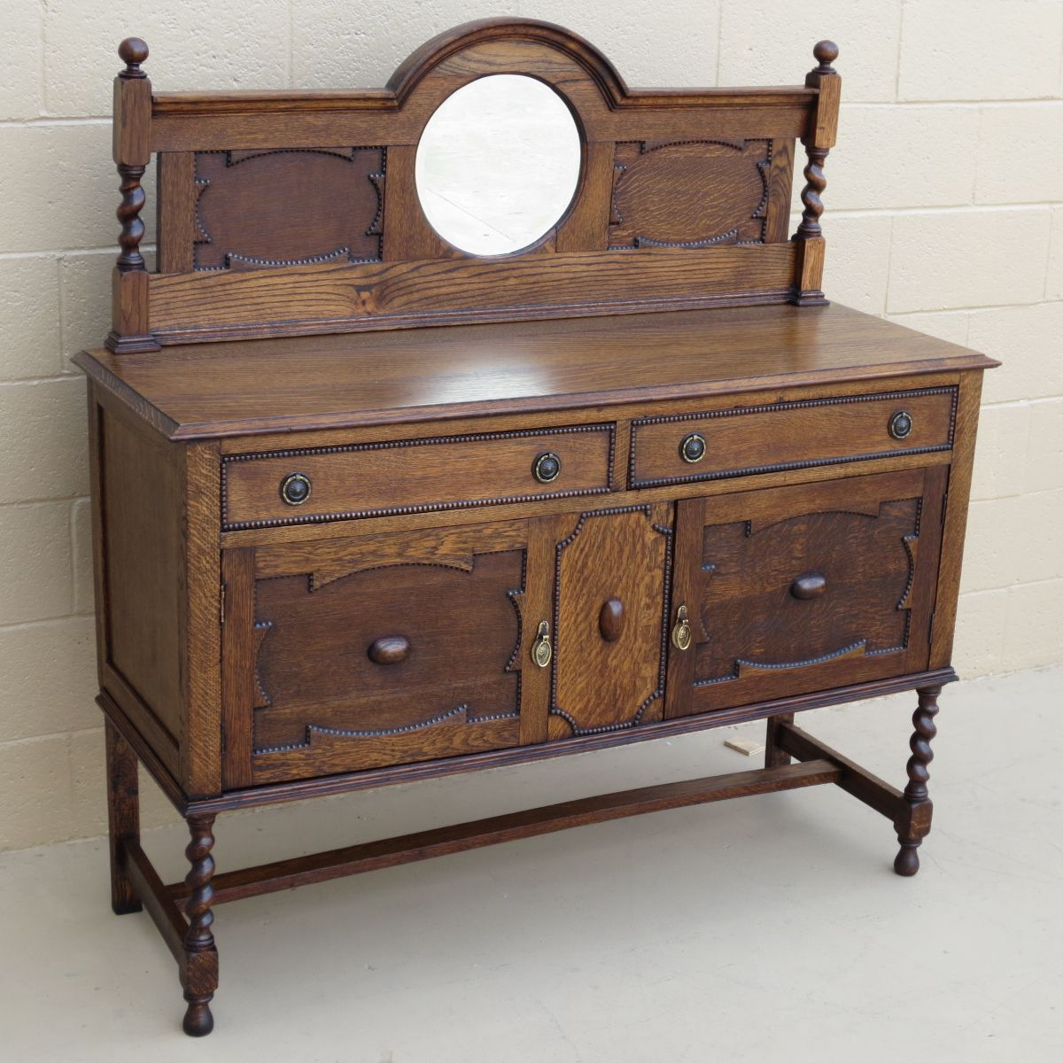 Antique Sideboard Furniture English