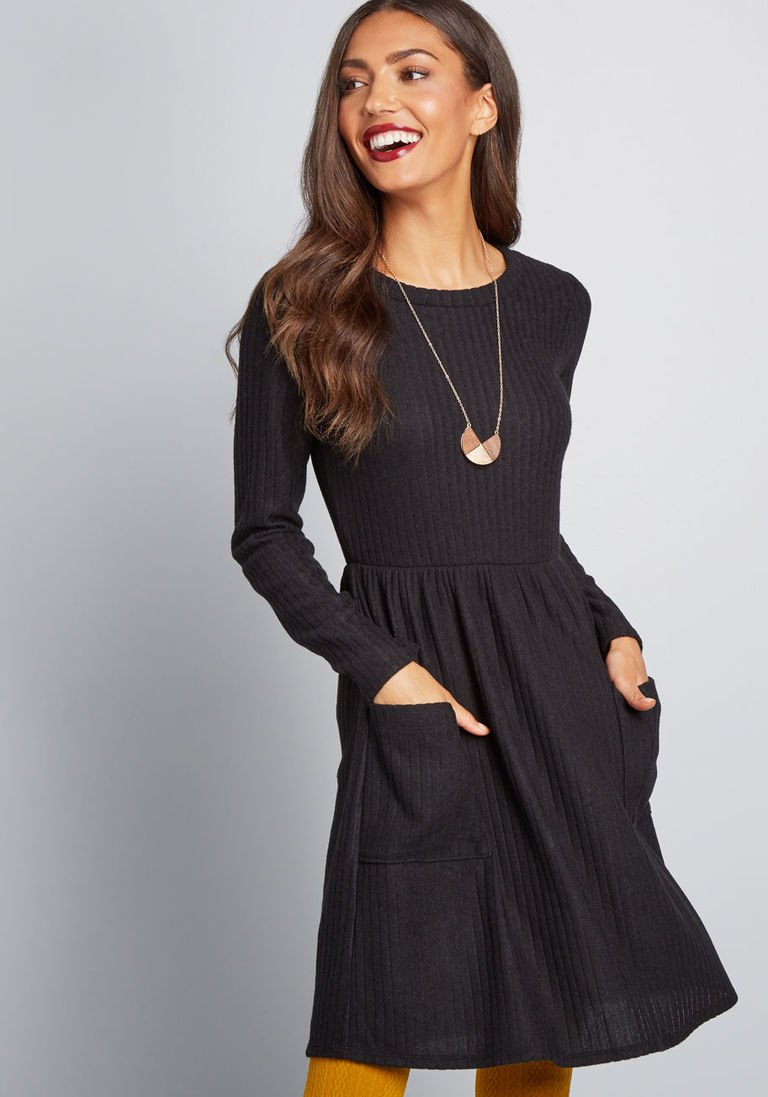 7a17c9cd977 Pleased to Be Me Sweater Dress in 2X - Long A-line Mini in 2019 ...