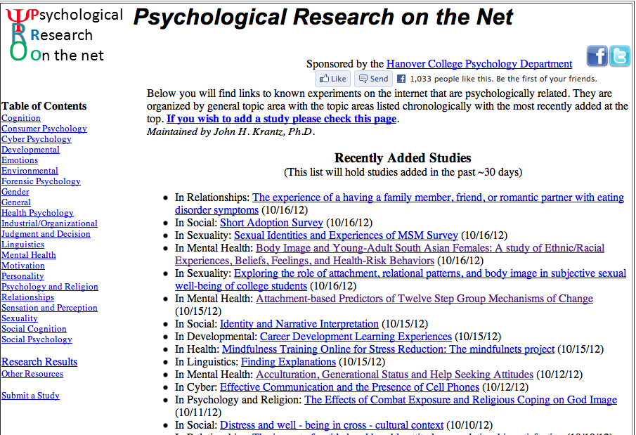 Ongoing Online Research Great To Show Examples Of Projects In