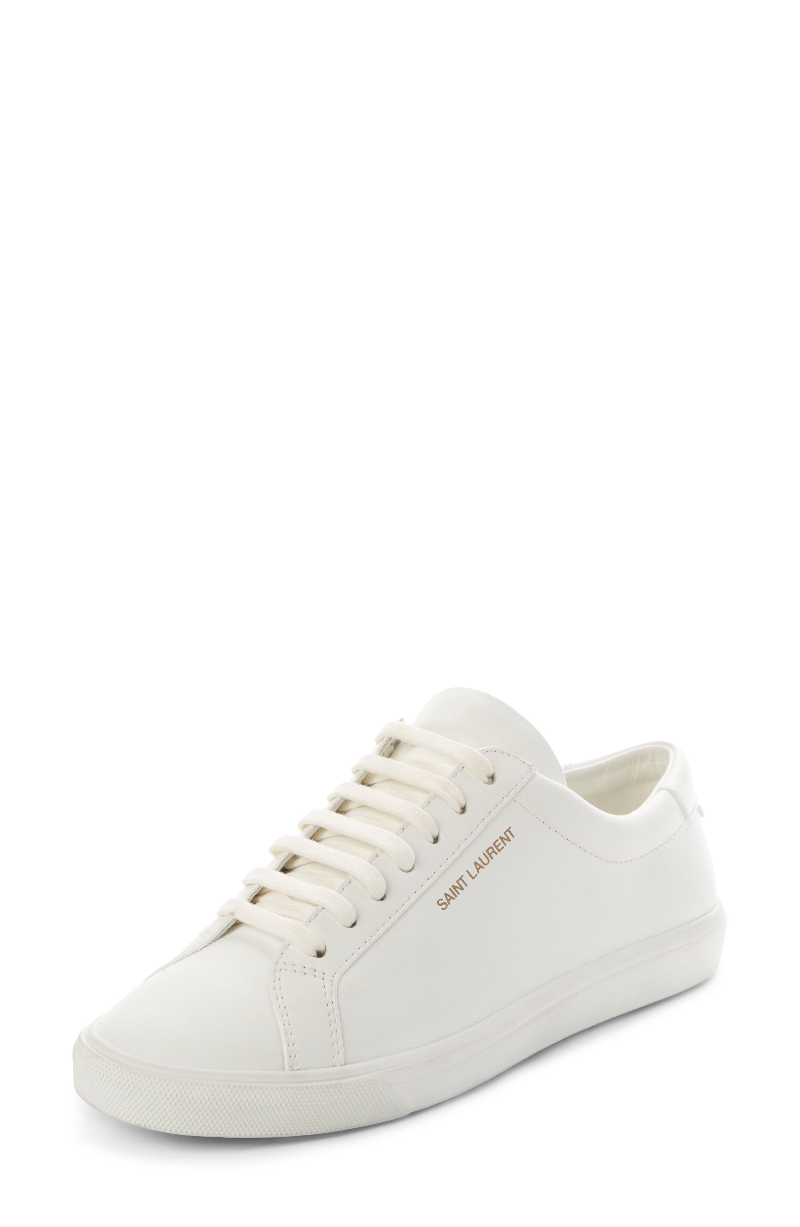 Women's Saint Laurent Andy Low Top Sneaker, Size 8US 38EU