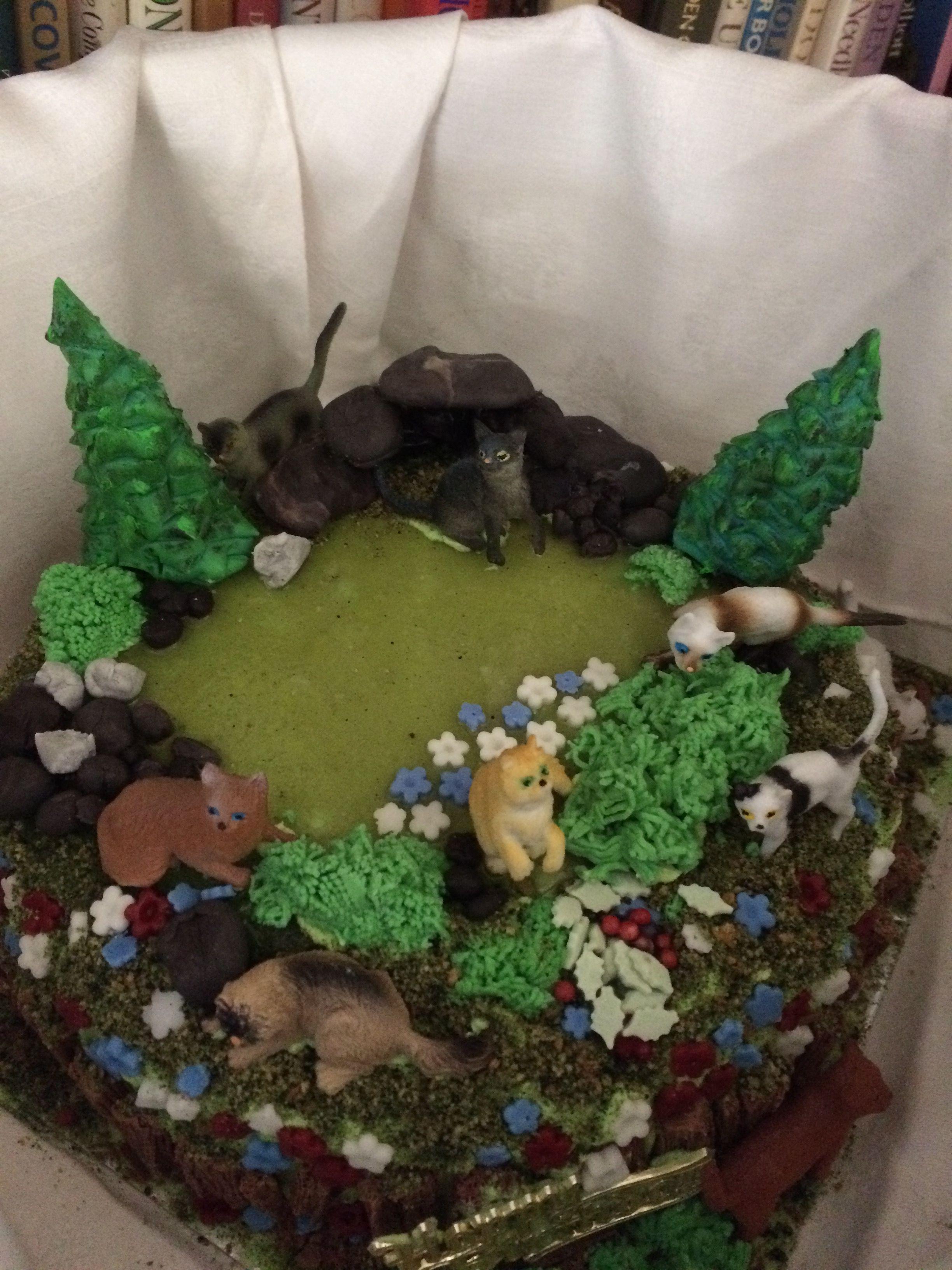 Warrior Cats Birthday Cake For My Granddaughter Warrior Cat