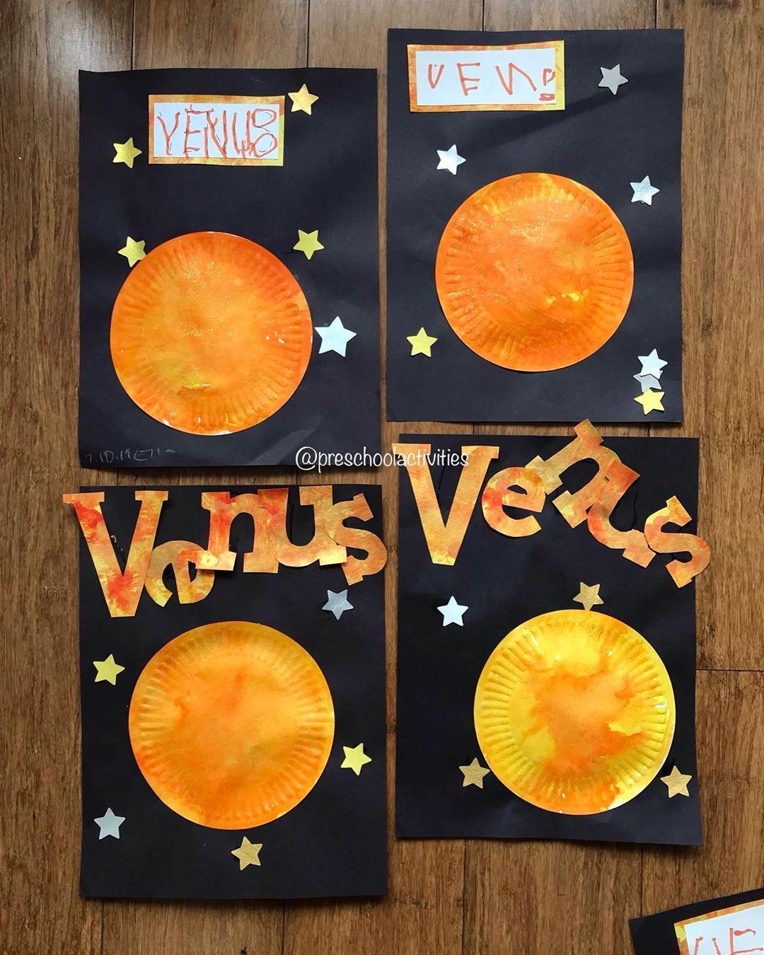 Preschool Activities On Instagram Venus Outer Space