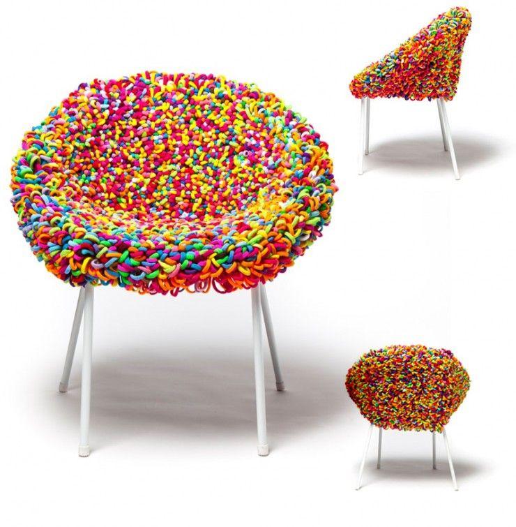 Margarida Valente Creative Elastics Wow Chair Chair Pedicure